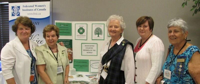Women's Institute of Nova Scotia: Structure